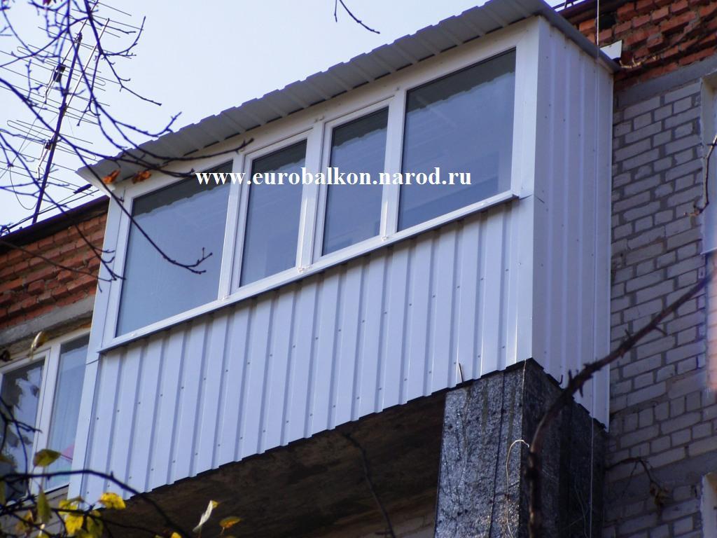 Обшивка крыши балкона внутри. - примеры ремонта - каталог ст.